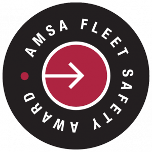 AMSA Fleet safety award logo