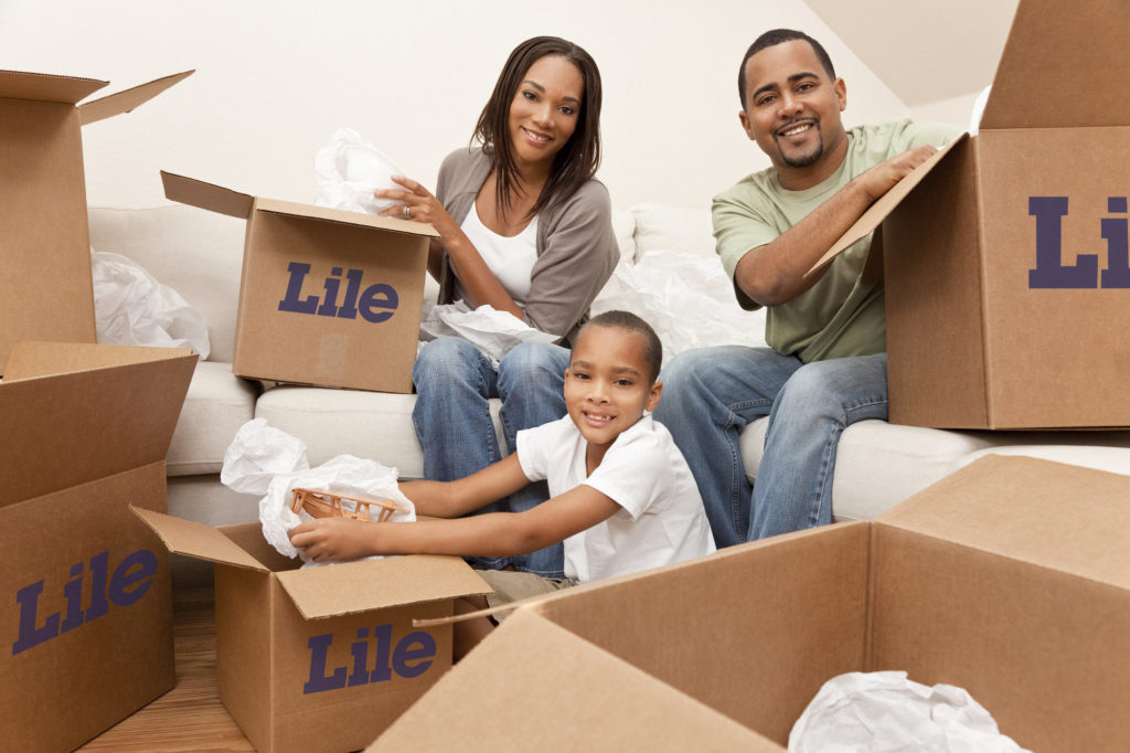 Family Packing Lile Boxes