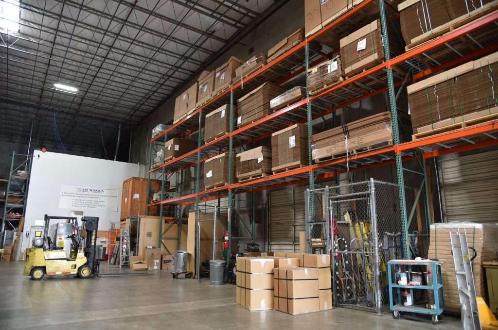 Inside the Eugene Warehouse