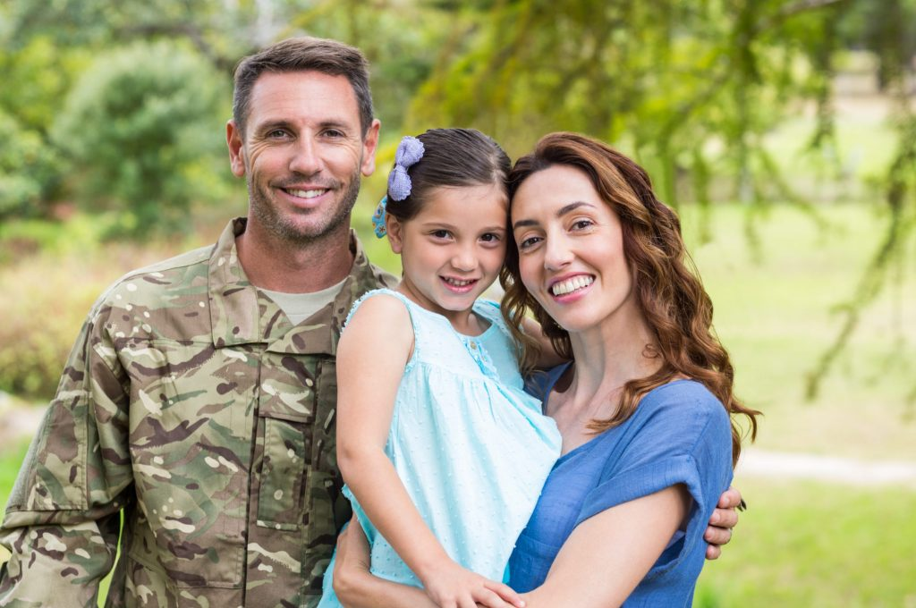 military moving services family