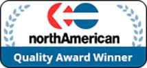 north american quality award winner logo